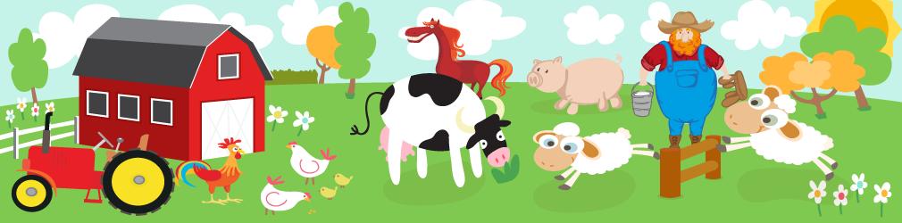 Risultati immagini per immagini animali fattoria per bambini